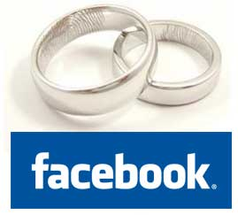 Wedding rings and facebook