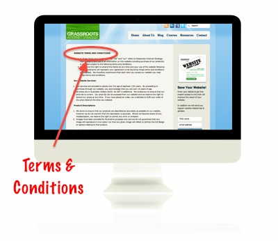 Website Terms and Conditions Blog Image