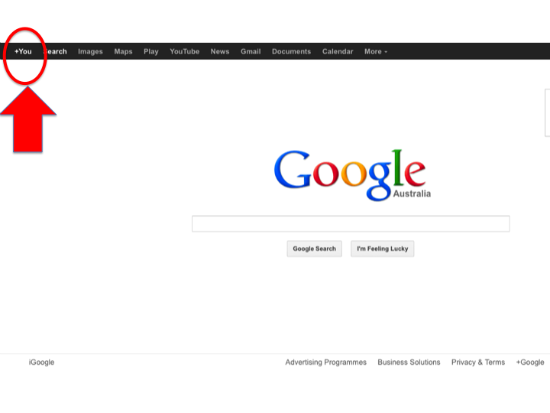 getting started on Google +