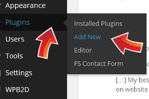 Click on 'Add New' to install a new plugin